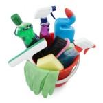 rengöringsprodukter och städmaterial ingår i priset